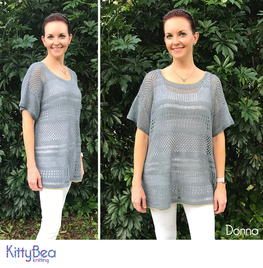 Linen: My First Knitting Love