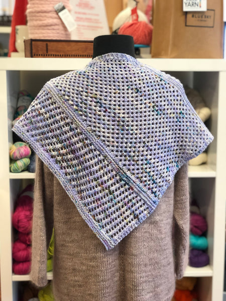 Bettye Shawlette & Shawl Knitting Pattern Download