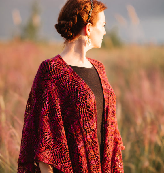 Wilson Ruana Knitting Pattern Download