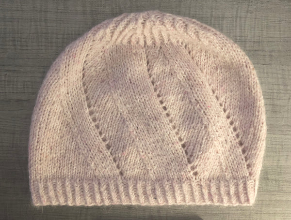 Daisetta Slouchy Hat Knitting Pattern Download