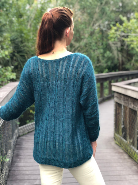 Booker Pullover Knitting Pattern Download