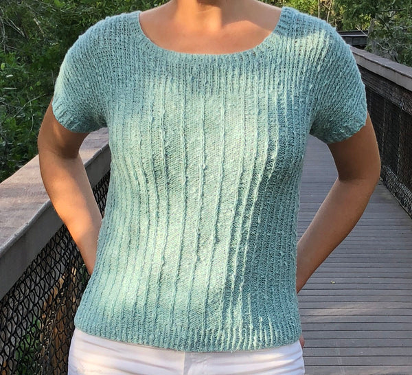 Stickney Tee Knitting Pattern Download