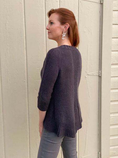 Reid Cardigan Knitting Pattern Download