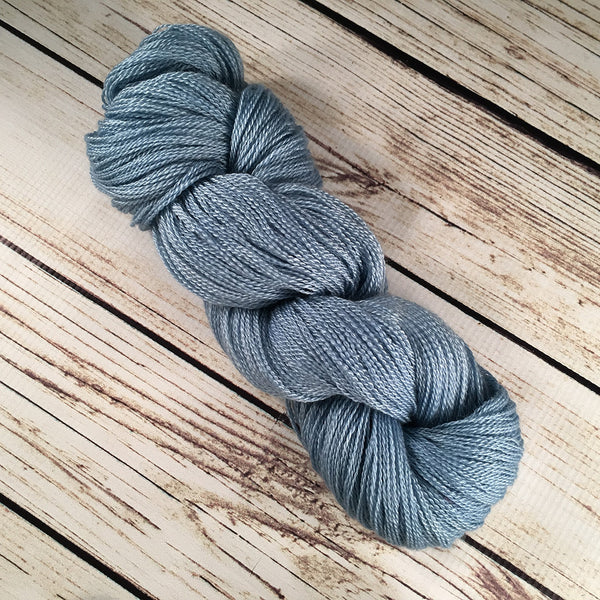 Gulf Stream Anna Maria Cashmere Mulberry Silk Yarn Hand Dyed by Kitty Bea Knitting