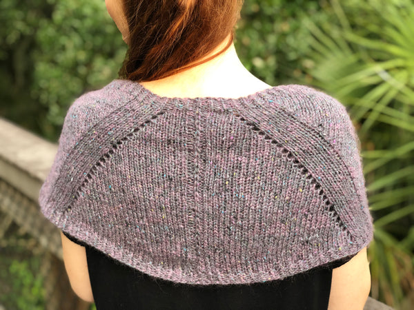 Katherine Capelet Cowl Knitting Pattern Download