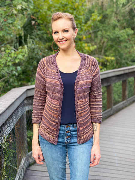 Floyd Cardigan & Coat Knitting Pattern Download