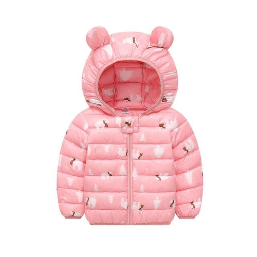 Boys Girls Jacket Coat Chlidren Winter Coats 3D - Regeneration Zone