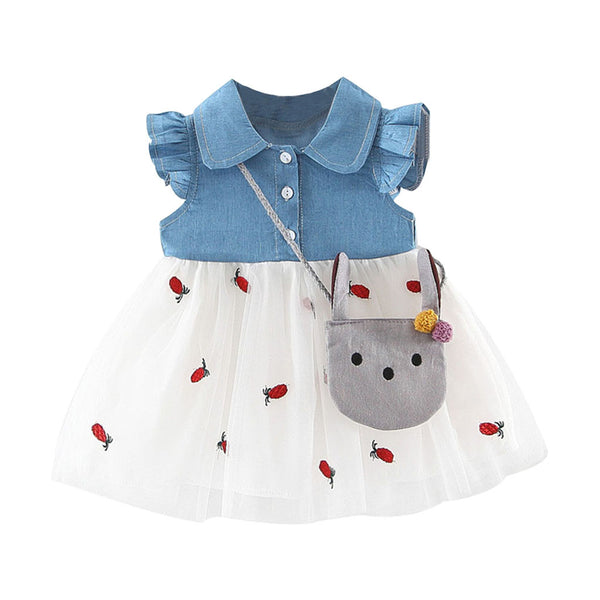 Cute Summer Dress with Satchel - Regeneration Zone