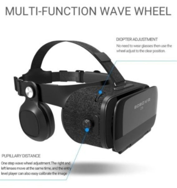 Dragon VR Gaming 3D Stereo Headset with Bluetooth Gaming Controller