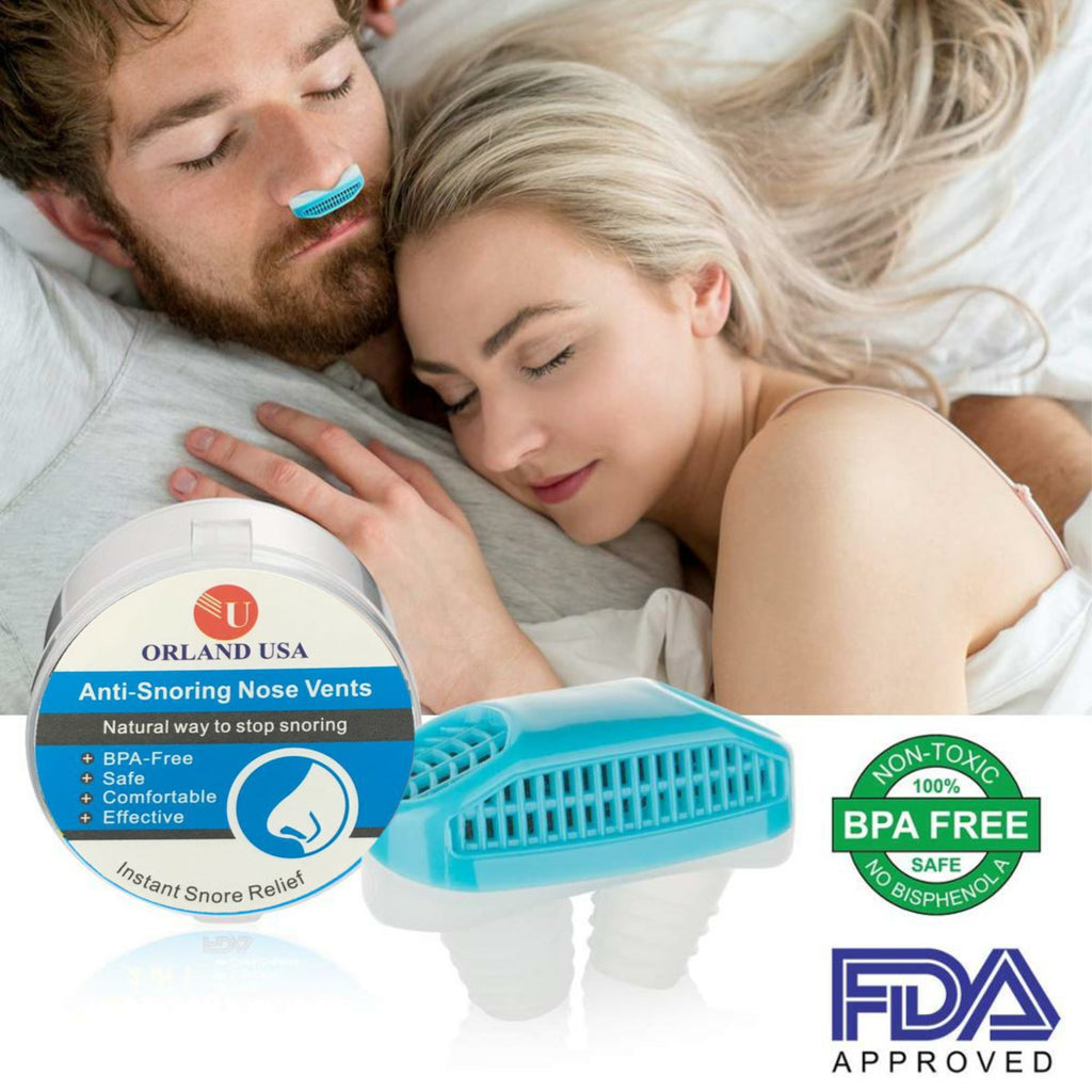 2 in 1 Anti Snoring Air Purifier Sleeping Aid Reliever Snoring Device