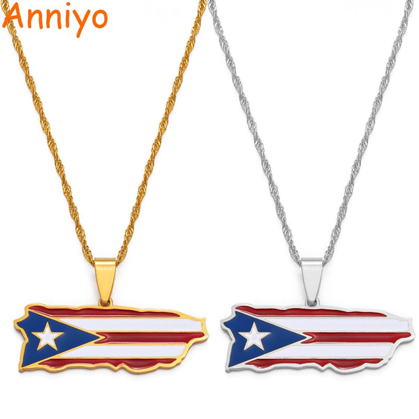 Necklace Boricua