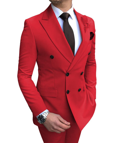 Burgundy Men's Suit - Regeneration Zone