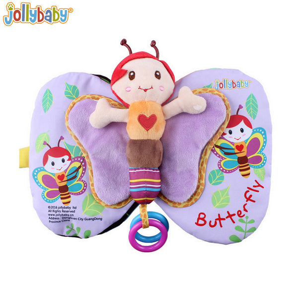 1pcs Animal Style Baby Toys Infant Kids Early Development Cloth Books Learning Education Unfolding Activity Books