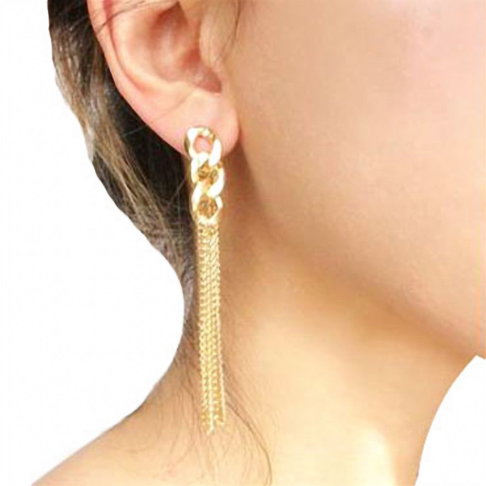1Pair Tassel Drop Earrings - Regeneration Zone