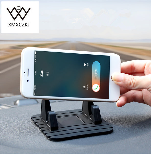 Car Styling Holder Rubber Mat Car Holder Mobile Phone Holder Dashboard Anti-Slip Mat Stand Sticky Pad for smart phone
