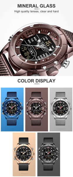 Watch Men Military NF9153-CE - Regeneration Zone