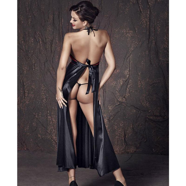 Seductive Long Gown & String Panty Anais Apolonya