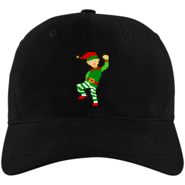 GreenMii - Folks the 8-Bit Christmas Elf - Dad Hat