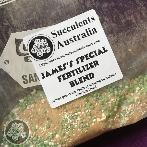 James's Special (Secret) Fertilizer Blend for Succulents