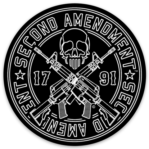 Second Amendment™ - Ghost Operator - Vinyl Decal Sticker 3""