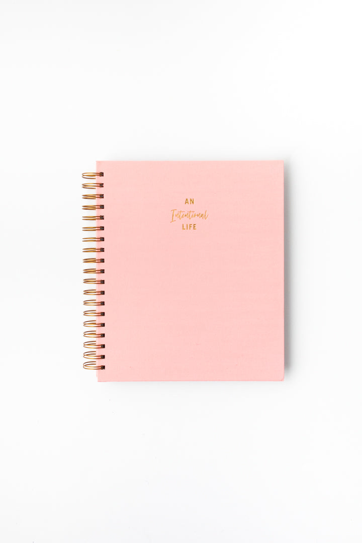 Daily Intentional Life Journal-Pink