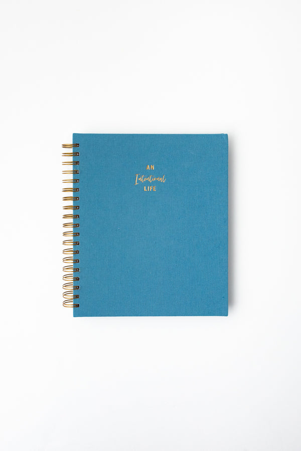 Daily Intentional Life Journal-Blue