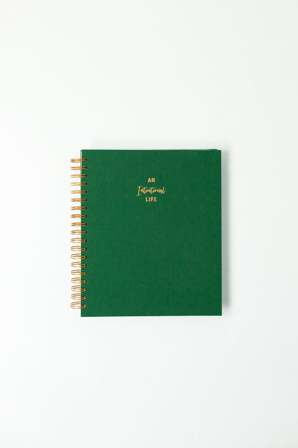 Daily Intentional Life Journal-Green - An Intentional Life
