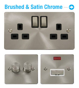 Flat Plate Brushed Stainless Steel
