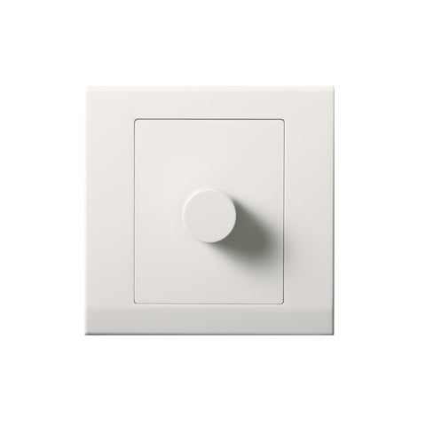 Simplicity LED Dimmer Light Switch 1 Gang 2 Way White