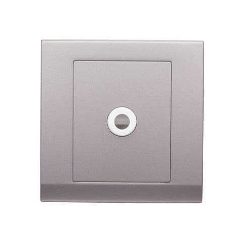 Simplicity 25A Connection Unit Flex Outlet Mid Grey