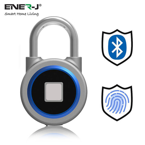 Smart Bluetooth + Fingerprint Padlock