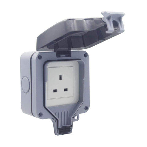 Smart WiFi Waterproof Outdoor IP55 Single Plug Socket