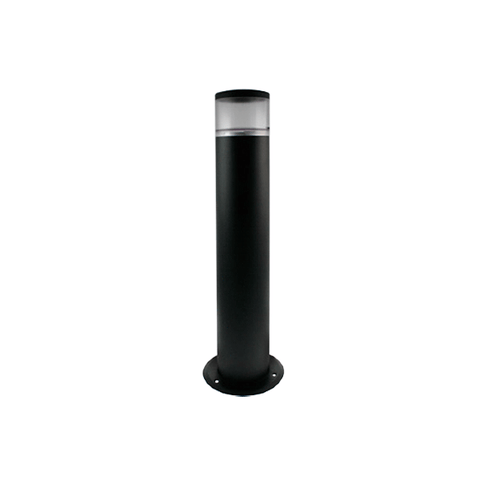 Ovia Black Bollard Light