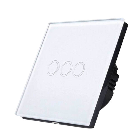 Smart Wifi 3 Gang Touch Light Switch