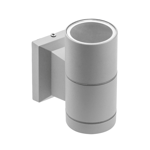 Baleo GU10 Single Grey Wall Light