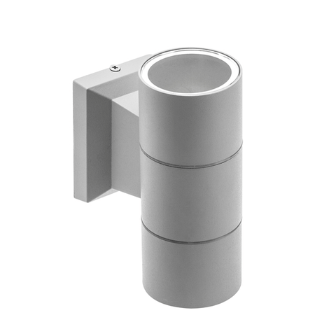 Baleo GU10 Twin Grey Wall Light