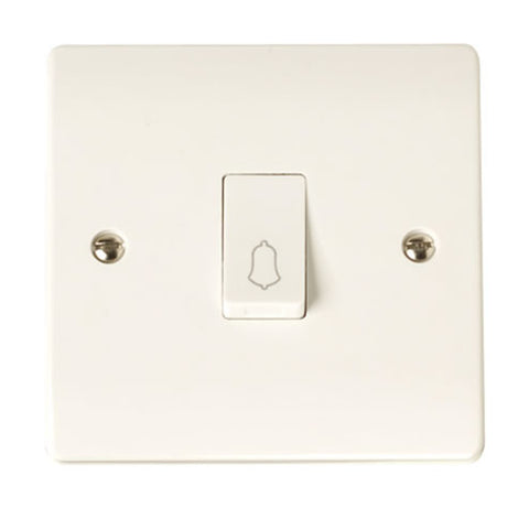 10A 1 Gang 2 Way Retractive Switch 'bell'