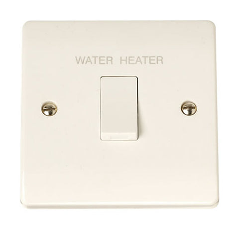 20A DP Water Heater Switch