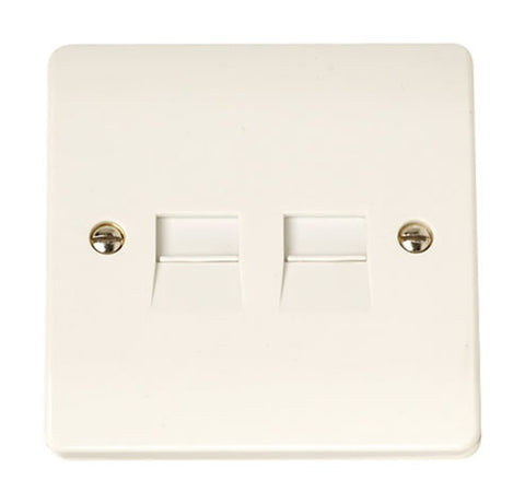 Twin Telephone Socket - Master