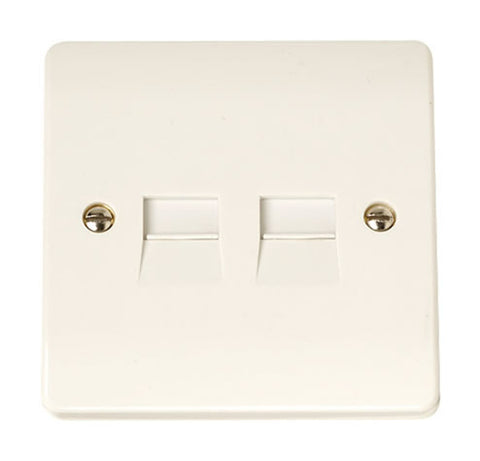 Twin Telephone Socket - Secondary