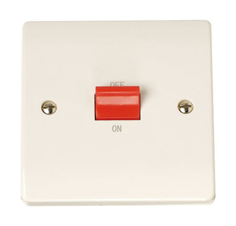 Single Plate 45A Switch