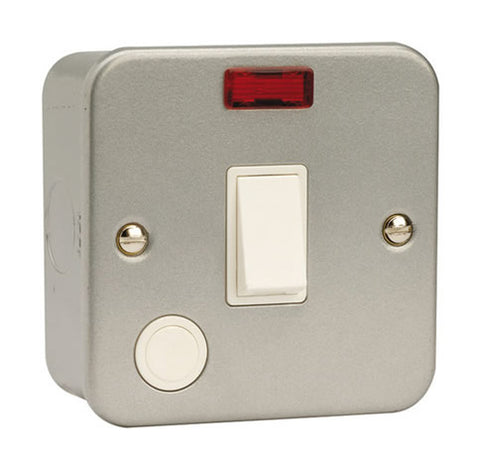 20A DP Switch With Optional Flex Outlet And Neon