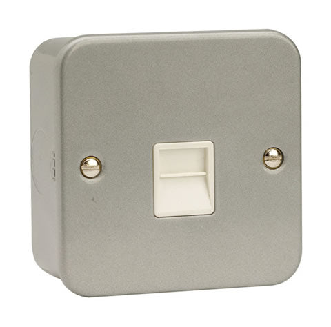 1 Gang Master Telephone Socket Outlet