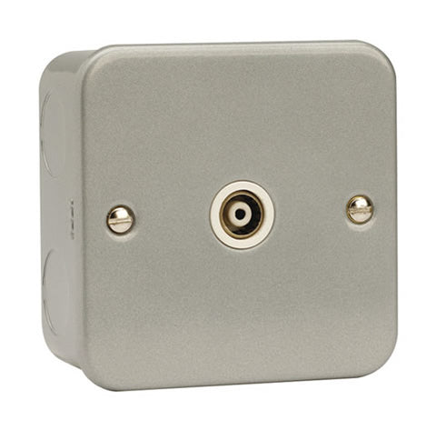 1 Gang Isolated Coaxial Socket Outlet