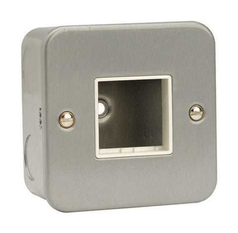 1 Gang Switch Plate – 2 Aperture