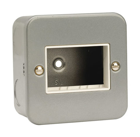 1 Gang Switch Plate – 3 Aperture