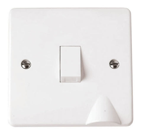 White 20A DP Switch