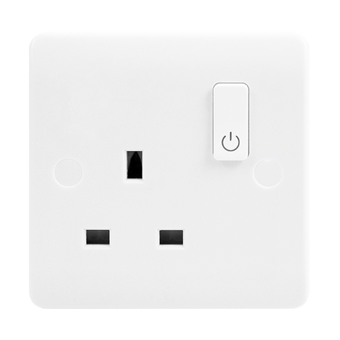 Click Smart+ Home WIFI 13A 1 Gang  Switched Plug Socket
