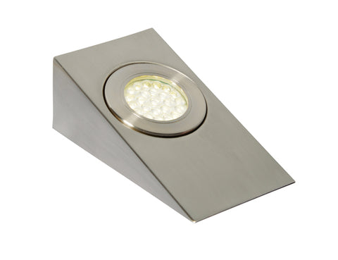 Satin Nickel Culina Lago LED Under Cabinet Light -  1.5W -  IP44 -  6000K