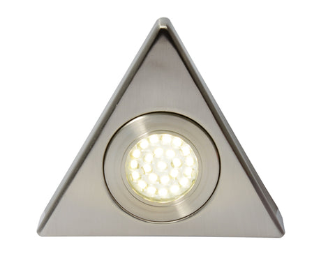 Satin Nickel Culina Fonte LED Under Cabinet Light -  1.5W -  IP44 -  3000K